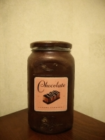"""Баночка для продуктов """"Винтажный шоколад"""""""