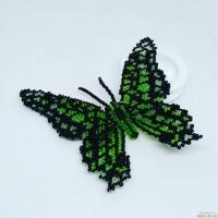 Брошка метелик ′Graphium agamemnon′