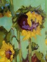 Букет осінніх соняшників