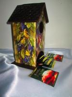 Чайный домик Эдем для чайных пакетиком, для кухни, подарок