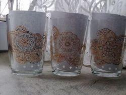 чашка сделанная контуром для стекла и керамики