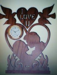 """Часы """"Я люблю тебя"""""""