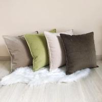 Декоративні подушки ручної роботи. Також, Ви можете комбінувати кольори однотонних подушечок по бажанню.   Розмір 40х40.  Тканина: велюр  Наповнювач синтепон.  Подушки мають з