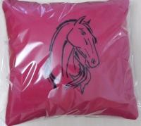 """Декоративная подушка """"Задумчивая лошадь"""""""