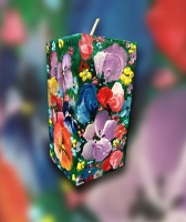 декоративная свеча  вес 625грм. Роспись цветными краскими(специализированными) высота 15см диаметр-5см