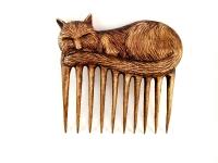 """Гребінь для волосся """"Кіт""""."""