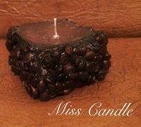 кофейная свеча с ароматом молока и мёда