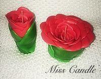 Свечи в форме роз