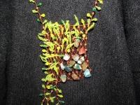 Подвеска Лесная поляна - зелень, цветы, одуванчики, весна.