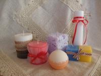 Декоративні свічки на замовлення: будь-якого кольору та розміру, ароматичні та оздоблені
