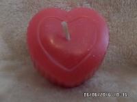 Сердце-ребристое d-6 см.Аромат по желанию-вишня,ваниль.Идея для подарка.
