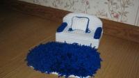Диван, подушка, коврик -  для игры с куколкой. Основа - ДВП ( прочное ), отделка - вязка. Ручная работа! В наличии диваны и кресла, наборы диваны и кресла, аксессуары для кукол, и кукольных домиков.