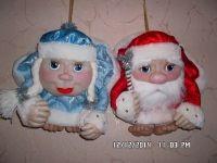 Сувенир Дед Мороз и Снегурочка