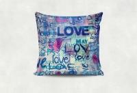 Интерьерная подушка - для влюбленных. Ручная работа!