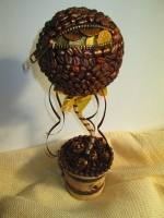 """Кофейный топиарий """"Достаток"""", дерево счастья и изобилия"""