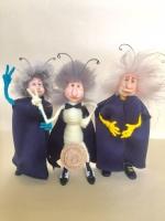 Коллекционная, сувенирная, интерьерная, авторская кукла - Мотылек с Достоинством. Ручная работа. Размер 10см.Мотыльки разного цвета. Ножки и ручки двигаются, можно собрать коллекцию. Материалы: полимерная глина, проволочный каркас, натуральный мех, акриловые краски, текстиль. Эксклюзивный, необычный, прикольный, сказочный подарок для человека с чувством юмора. Порадуйте себя или своего близкого человека. Любимая работа автора.