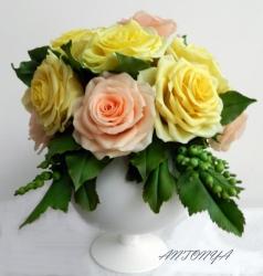 Композиция«Садовые розы»