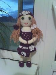 Кукла авторская ручной работы, связана крючком в стиле амигуруми. В наличии и под заказ.