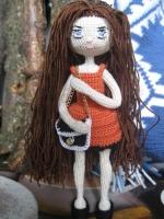 Кукла каркасная, интерьерная