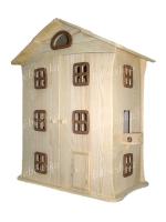 Большой деревянный домик для куклы. Продается с мебелью. Тщательно отшлифован. Комплект поставки – все что на фото. Изготовлен из массива сосны. Высота этажа 19 см. Ручная работа. Домик стоит вашего внимания! Ваша принцесса будет в восторге!