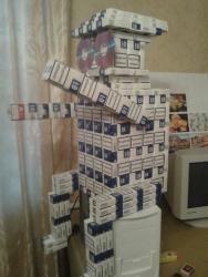 Робот с пачек сигарет LD