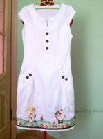 Летнее платье , сарафанчик , заготовка для пошива