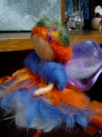 Лялечка з вовни Шафранова