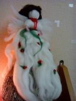 Лялечка з вовни Трояндова