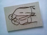 Ручна вишивка на папері