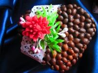 Милые кофейные валентинки ручной работы