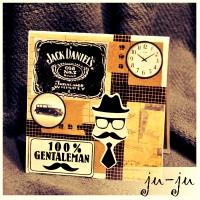 """Стильная открытка парню, мужчине, любимому, родственнику, коллеге Красивая мужская открытка """"раскладушка"""" с двумя створками. Больше открыток тут: https://vk.com/otkryitki_juju https://www.facebook.com/jujumagiccards Открытки Ju-Ju приносят счастье!"""