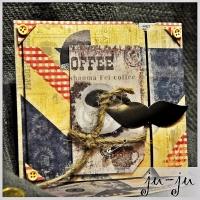 """Красивая мужская открытка """"раскладушка"""" с двумя створками. Больше открыток тут: https://vk.com/otkryitki_juju https://www.facebook.com/jujumagiccards Открытки Ju-Ju приносят счастье!"""