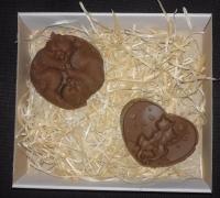 Набор шоколада ручной работы «Коты»