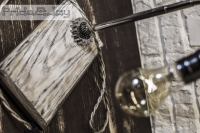 "НАСТОЛЬНАЯ ЛАМПА РУЧНОЙ РАБОТЫ INDUSTRIAL ""PRIDE&JOY"""