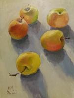 натюрморт з яблоками