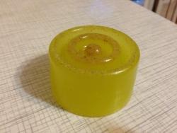 Натуральное мыло - Мыльце-шайба с медом и иланг-илангом