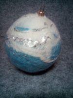 """Новорічна кулька """"Сніжні кучугури"""""""