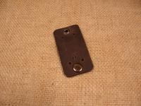Якісна шкіра ′Крейзі Хорс′.  Застібка: кнопка  Розмір: 4,5 см х 9 см  Колір: коричневий (можливі кольори: коричневий, оливковий, коньячний)