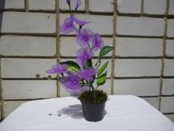 цветок из капрона. Орхидея