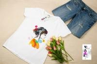 Пропонуємо чудові футболки з малюнками. Тканина натуральна, якість нанесення відмінна.