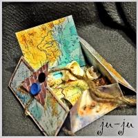 Необычная открытка-коробочка Больше открыток тут: https://vk.com/otkryitki_juju https://www.facebook.com/jujumagiccards Открытки Ju-Ju приносят счастье!