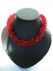 """Ожерелье """"Красный коралл"""""""