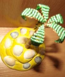 Пальма из бисера, 10грн