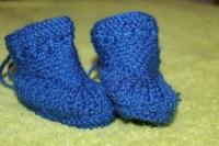 Щоб улюблені ніжки були в теплі. Пінетки підійдуть для малят віком від 3 - до 8 місяців. Матеріал - акрил, приємний до тіла і добре зберігає тепло. (В наявності по 2 пари кожного кольору) - жовті та сині.