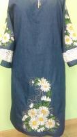 Платье з ромашками