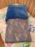 Плед із ніжного плюшика та бавовни. Малюку буде дуже тепло та затишно під такою ковдрою.