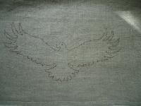"""Подарочное полотенце для Него """"Посланник богов""""."""