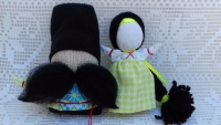 Все обереги выполнены по правилам изготовления куклы-мотанки, с пониманием и любовью к своему делу. Цена за пару.
