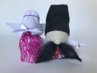 Подарок паре в дом.Кукла-мотанка.Оберег для семьи.