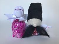 Все обереги выполнены по правилам изготовления куклы-мотанки, с пониманием и любовью к своему делу.